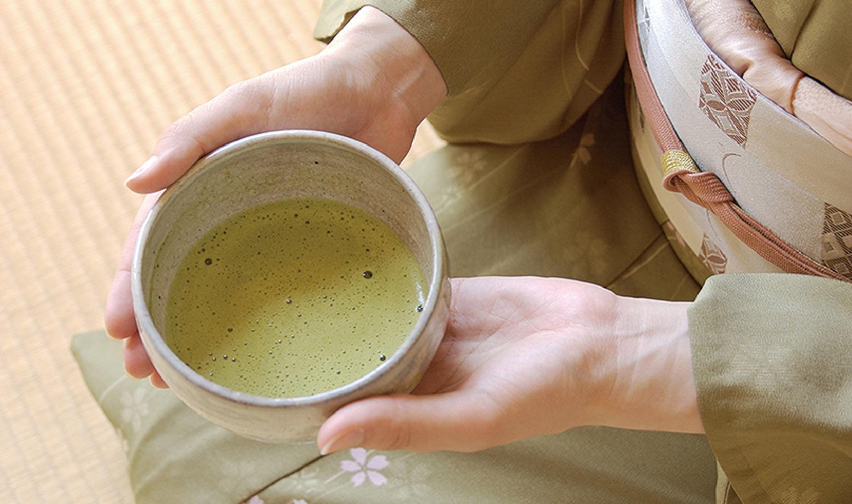 【浜田店】2月の着物deお茶会