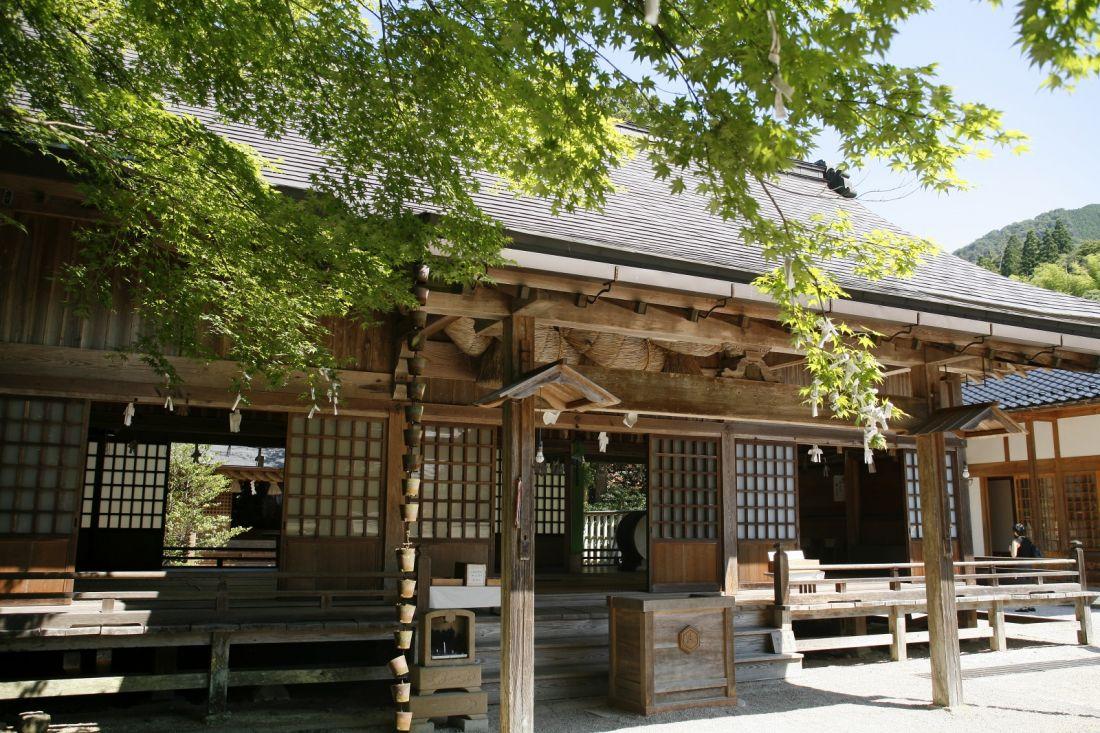 【出雲店】5月の着物de須佐神社